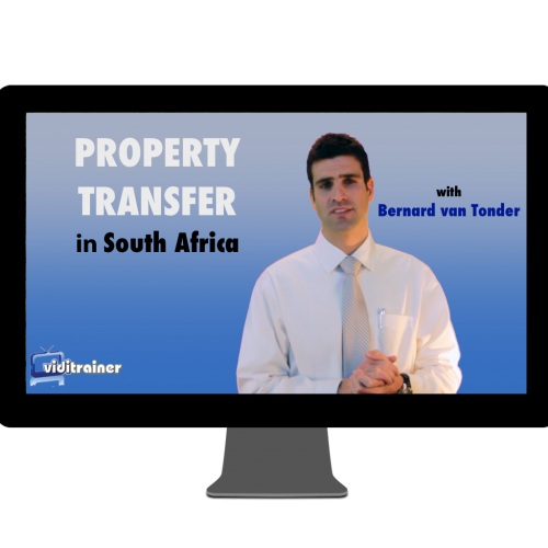 Cover image for short course on property transfer in South Africa