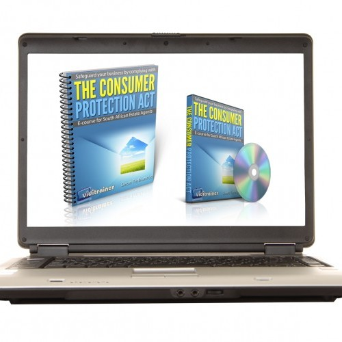 Cover image for the online e-course on the Consumer Protection Act for Estate Agents