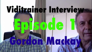 Thumbnail image of Episode 1 of Viditrainer Interviews with Gordon Mackay