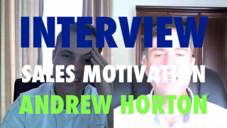Image of Andrew Horton sharing some inspirational and motivational ideas with Deon Terblanche during his Viditrainer Interview