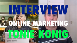 Image of interview with Tonie Konig on the importance of your online marketing strategies