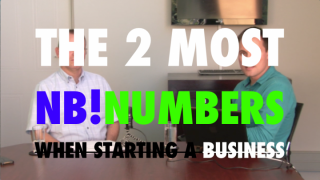 Image of interview with Dieter Deppisch on the two most important numbers when starting a small business