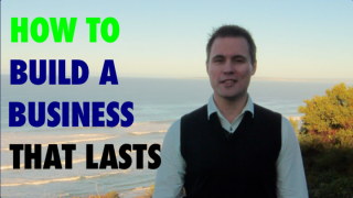 Thumbnail of Viditrainer video on how to build a business