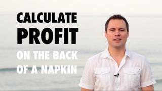 Business profit video
