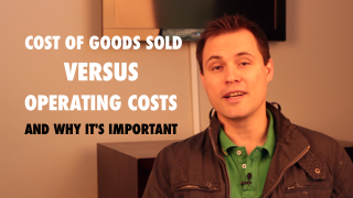 Cost of Sales versus Operating Costs - Why you must understand both