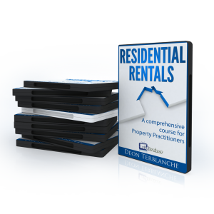 Image of DVD cover of course on private property rentals for estate agents