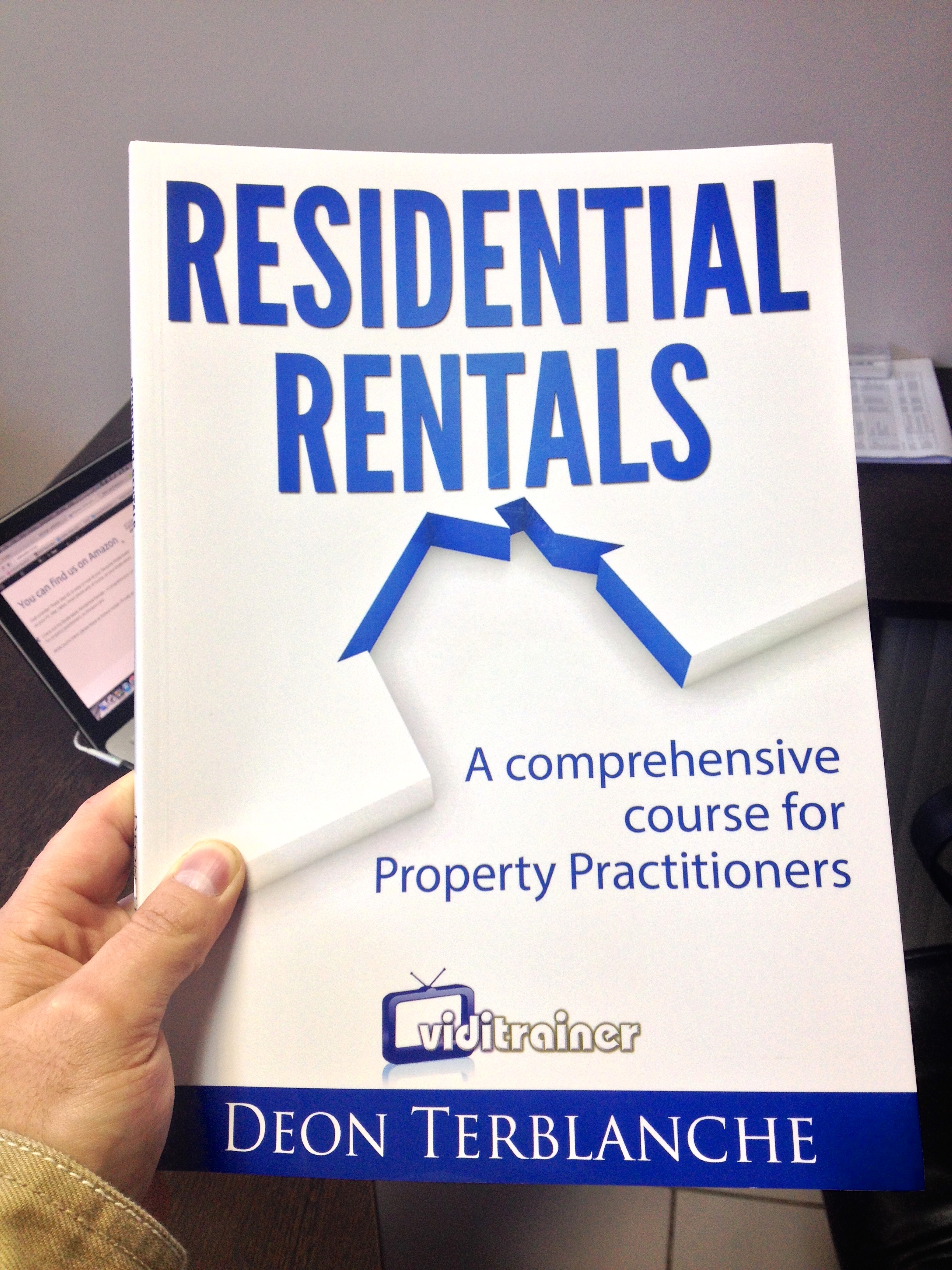 Image of front cover of Residential Rentals for Property Practitioners book